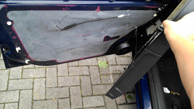 Opel Astra H Türfolie abdichten